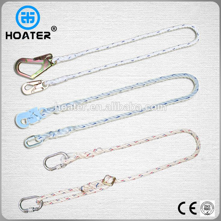 Durable Lineman Safety Belt Polyester Lanyard With