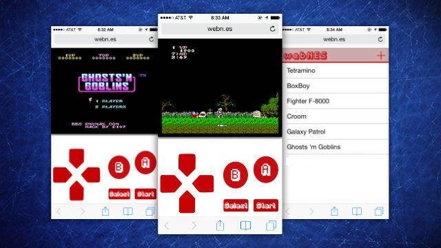 WebNES, giocare ai giochi NES da dispositivi iOS e Android - Mondo Informatico