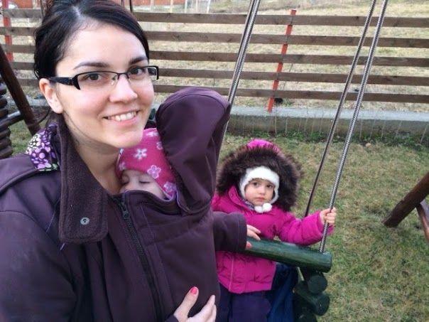 Anikó #babywearing #mamacoat #liliputi