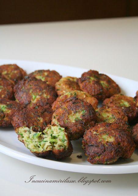 In cucina mi rilasso: Frittelle greche di zucchine