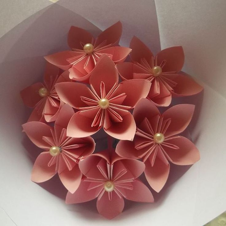 Buket bunga kusudama