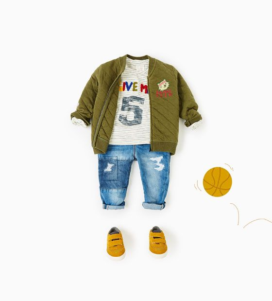 SHOP BY LOOK-Baby boy-Baby | 3 months - 3 years-KIDS | ZARA United States