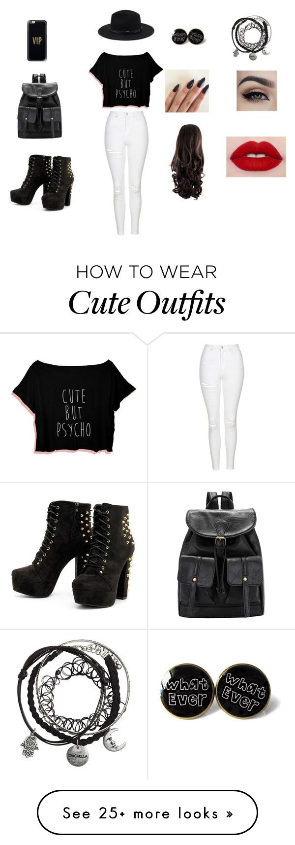 """outfit #1"" by lola456-680 on Polyvore featuring Topshop, Forever 21 and Casetify"