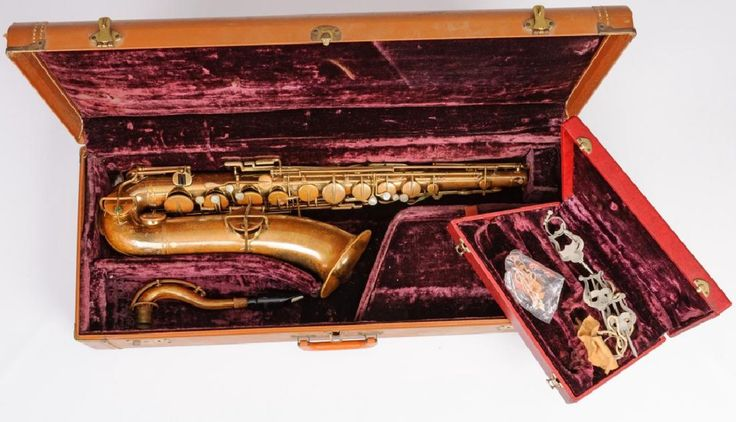 """The Buescher"" True Tone Low Pitch Tenor Saxophone"