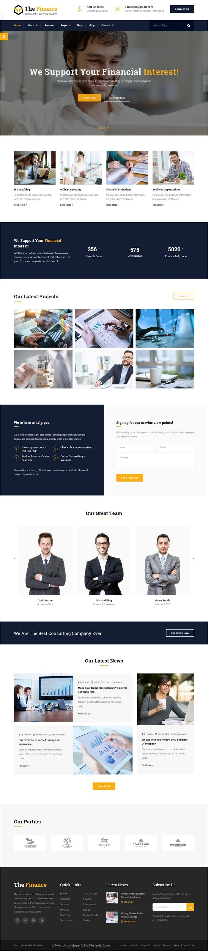 The finance is clean and modern design 3in1 responsive #HTML5 template for business #consulting and professional #service website download now > https://themeforest.net/item/the-finance-business-consulting-and-professional-services-html-template/19956712?ref=Datasata