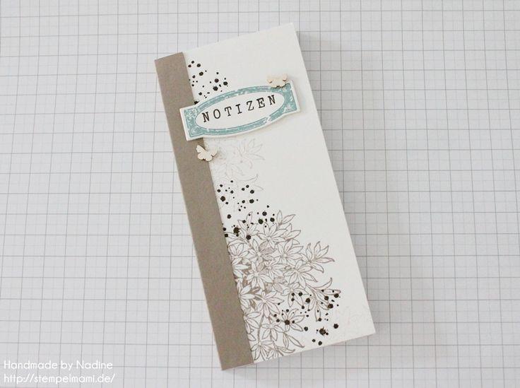 Stampin Up Anleitung Tutorial Notizblock Note Book Box Goodie Stempelmami 002