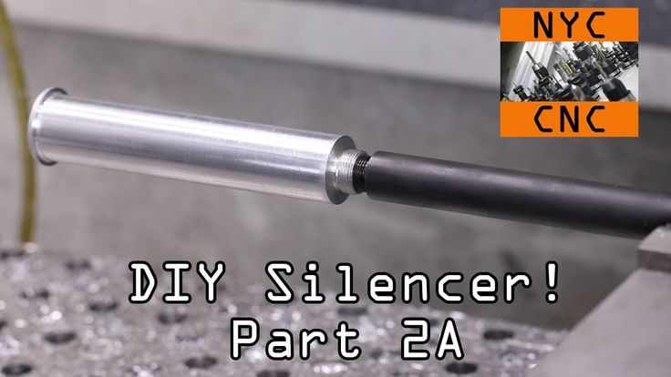 DIY a Monocore Silencer: SprutCAM for 4 axis milling programming (7:57) and milling on the Tormach PCNC 1100.