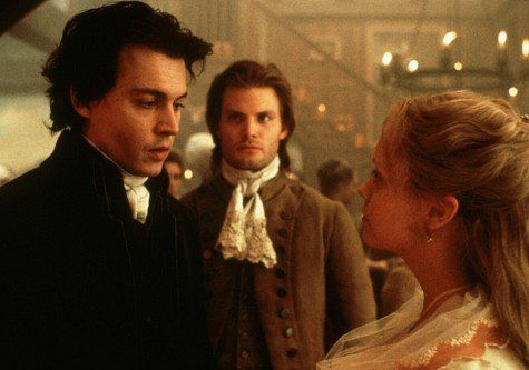 Still of Johnny Depp, Christina Ricci and Casper Van Dien in Sleepy Hollow