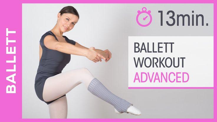 Ballett tanzen lernen & trainieren - Lounge Dance Workout für Fortgeschr...