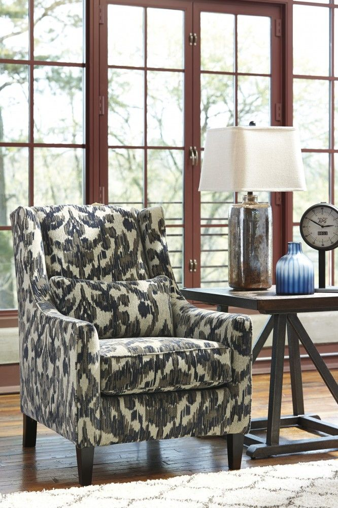 Get Your Owensbe Accent   Charcoal   Accent Chair At Furniture Warehouse, Holland  MI Furniture Store.