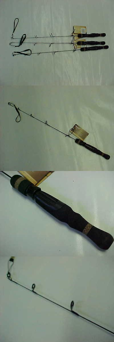 Ice Fishing Rods 179947: 3 New Fenwick Hmg 25 Light Ice Fishing Hmgice25l Rods BUY IT NOW ONLY: $59.95