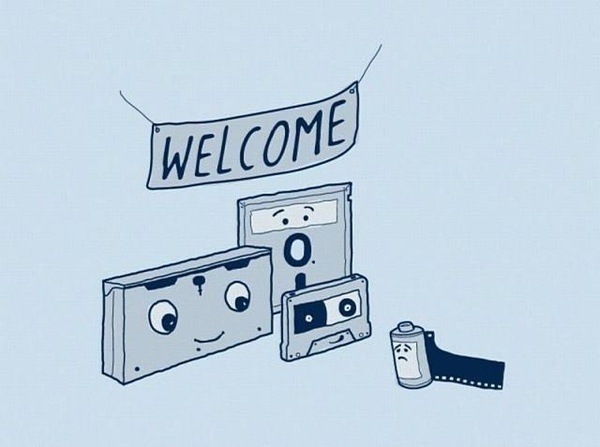 Welcome!Stuff, Welcome Parties, True Facts, Film Photography, New Technology, Retirement Parties, Nostalgia, Humor, Funny Shirts