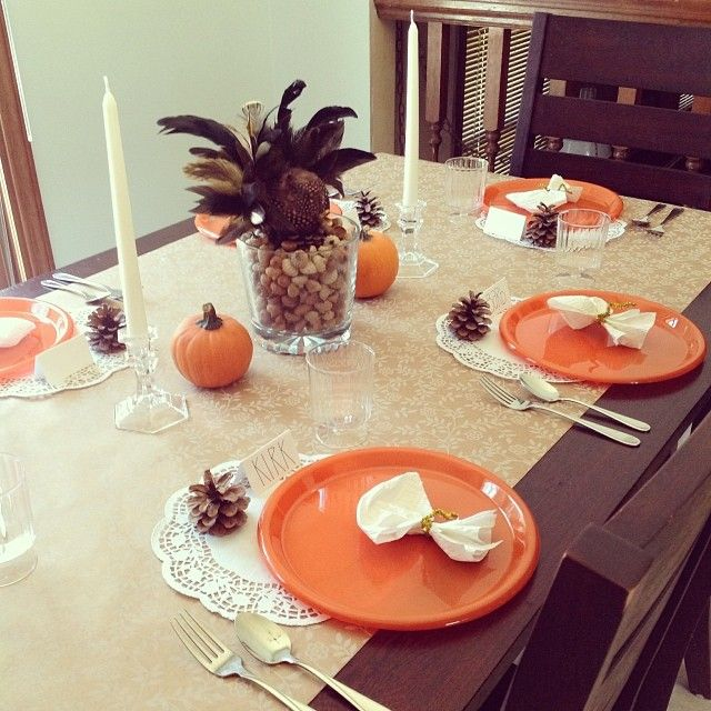 Thanksgiving Decoration Ideas For Table: 13 Best Images About Fall Decor On Pinterest