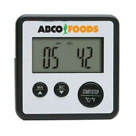 Digital Food Thermometer w/ Countdown Timer