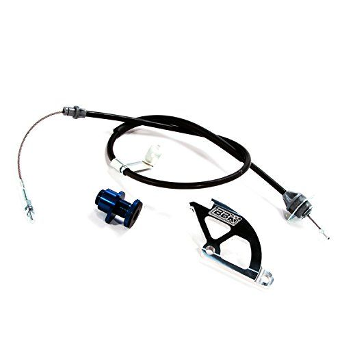 BBK 16095 Adjustable Clutch Cable, Double Hook Aluminum Quadrant and Firewall Adjuster Kit for Ford Mustang GT, Cobra. For product info go to:  https://www.caraccessoriesonlinemarket.com/bbk-16095-adjustable-clutch-cable-double-hook-aluminum-quadrant-and-firewall-adjuster-kit-for-ford-mustang-gt-cobra/