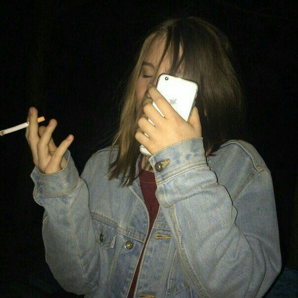 Aesthetic Tumblr Sad Smoking Anime Girl - KLICKSEHAT.CLUB