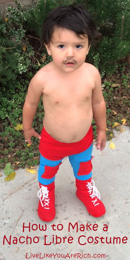How to Make a Nacho Libre Costume-easy, quick, and fun!