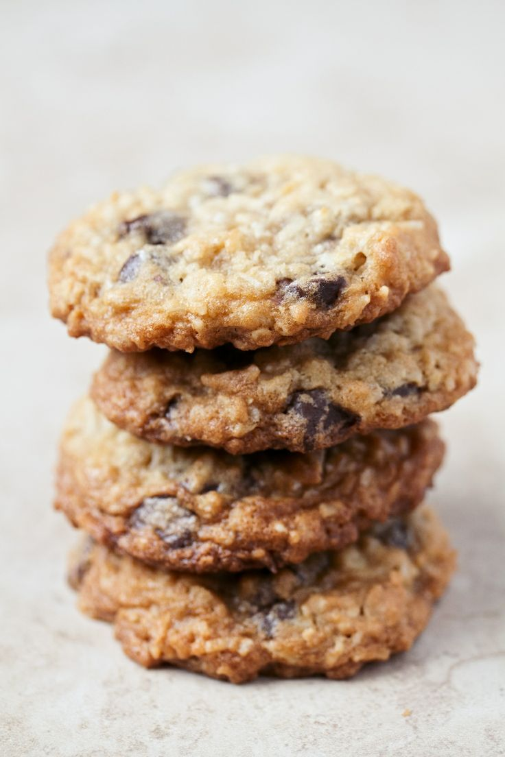 ~ Oatmeal Coconut Chocolate Chip Cookies ~