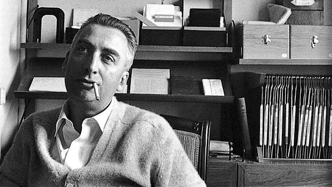 """""""The bastard form of mass culture is humiliated repetition … always new books, new programs, new films, news items, but always the same meaning."""" - Roland Barthes.: Blog 522 1 Roland Barthes Jpg, Barthes Barthes100, Roland Barthes Jpg 755 496, Rolandbarthes Christineeffe, Book, People, Pigrizia Rolandbarthes, Photography"""