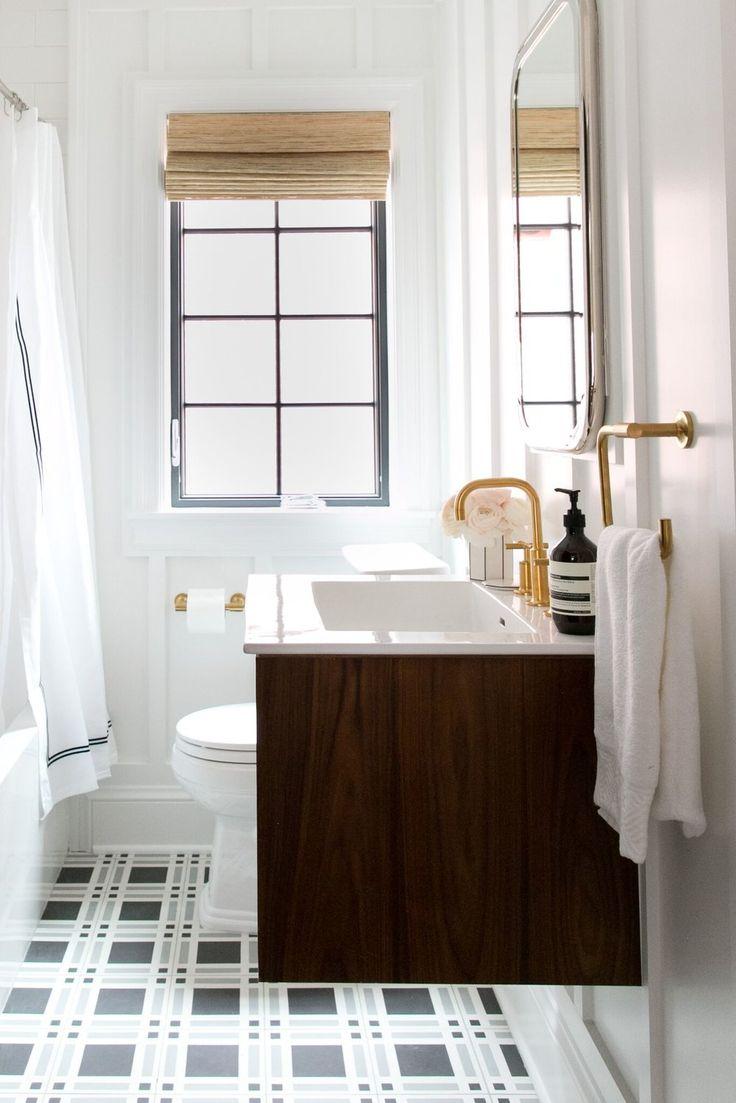 Inspired bathroom blog by diamond interiors vanity basin vanity bench - Denver Tudor Reveal