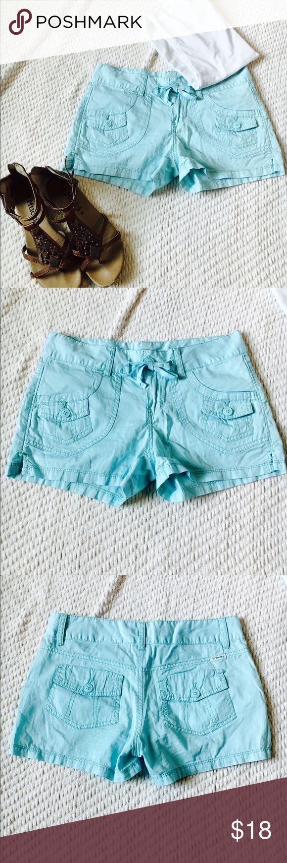 Light blue shorts Nwot light blue shorts with drawstring waist UNIONBAY Shorts