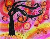 Artsonia Art Exhibit :: Natasha Wescoat Fantasy Trees