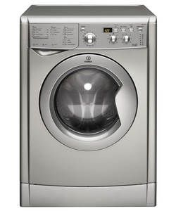 Indesit Eco-Time IWDD7143S Freestanding Washer Dryer Silver