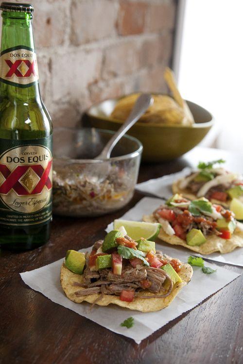 Salpicón (Spicy Mexican Shredded Cold Beef Salad)