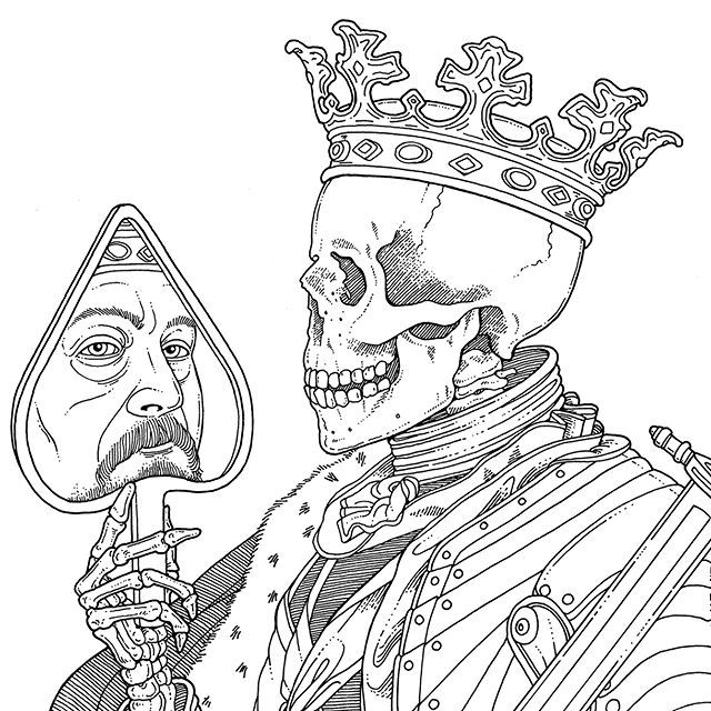 King of Spade - Check it out: http://www.dietmarreinhard.com/