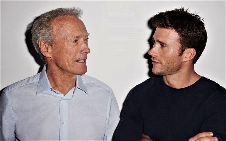 "nostalgiadomas: ""Clint and Scott Eastwood """