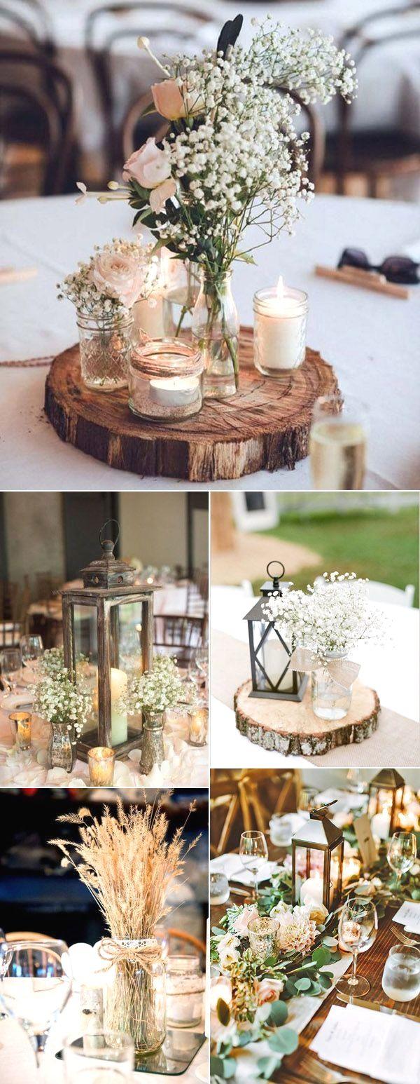 Rustikale Hochzeitsdekoration   – Love