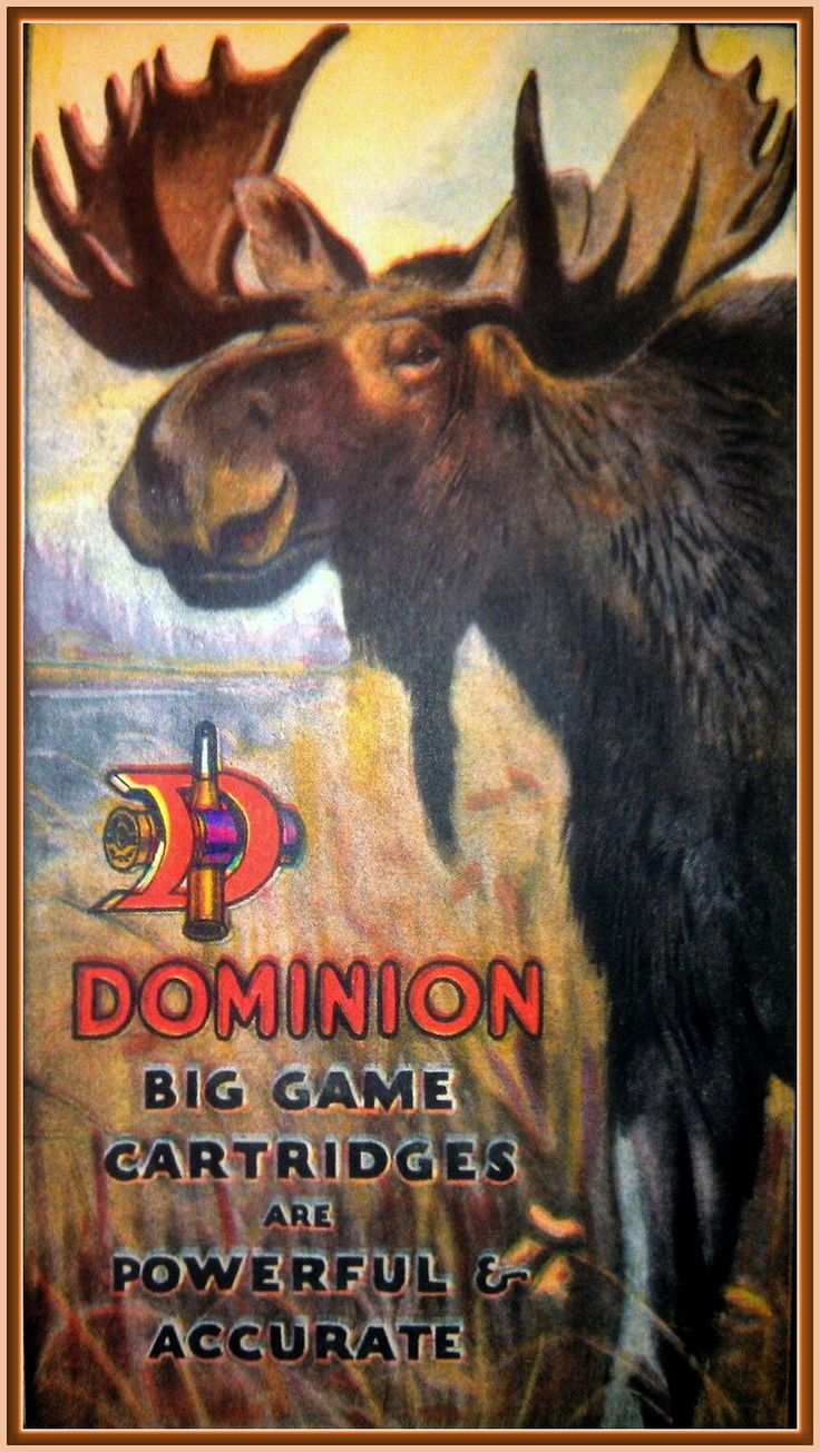 Dominion Cartridge Company of Montreal, Canada ammo ad