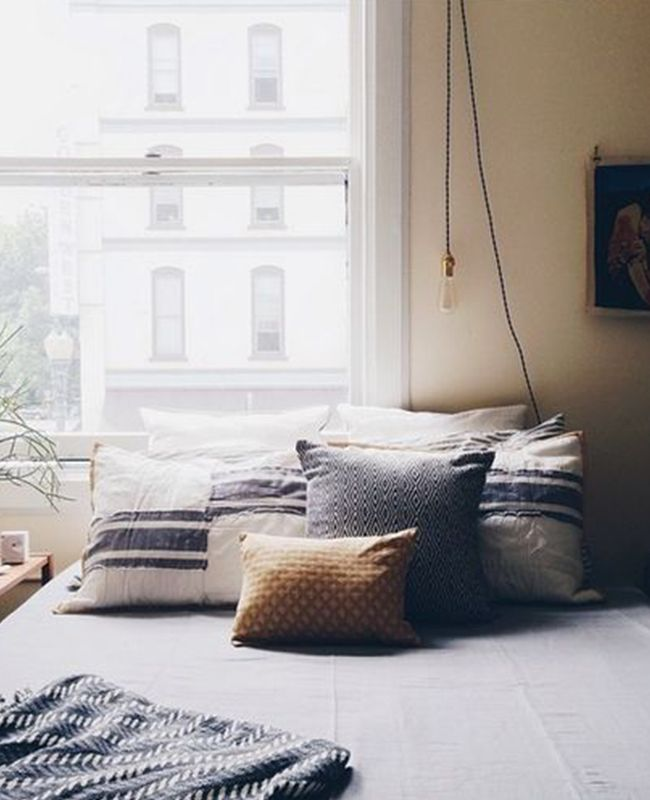 Greys And Neutrals And Lots Of Light Love At First Sight Cozy Bedroombedroom Ideasbedroom Designsbedroom