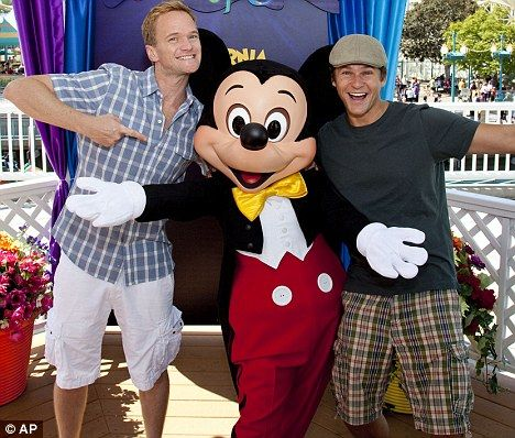 Awesome people and Mickey.  These two guys are not incredibly good looking, but their character and personality is so incredibly and shines with so much strength, that to me, they are hotter than the most perfect muscle dude