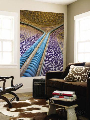 オールポスターズの ミーケイレイ・フォールゾーン「Sheik Lotfallah Mosque, Isfahan, Iran」ウォールミューラル