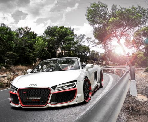 The Audi R8 is one of the more affordable Supercars on the roads and it looks as hot as any! Check it out... http://www.ebay.com/itm/004-Audi-R8-Super-Car-Racing-Car-concept-22-x14-Poster-/181382737804?pt=Art_Posters&hash=item2a3b40ef8c?roken2=ta.p3hwzkq71.bsports-cars-we-love #spon #supercarporn