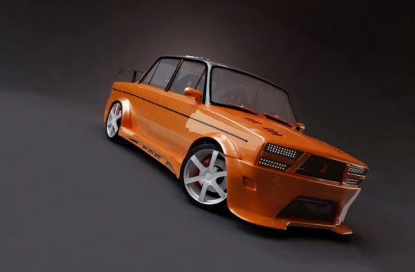15 самых оригинальных тюнингованных автомобилей ВАЗ-2106. (22 фото)