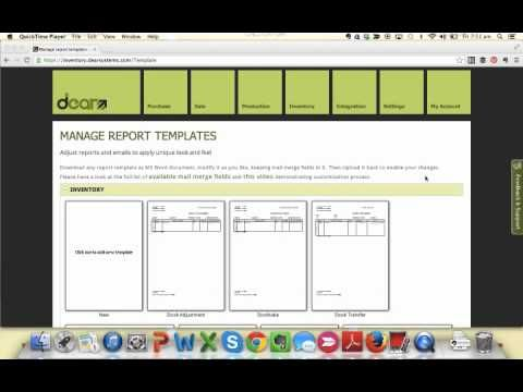 http://www.jerimurphy.com Check out all the different report and document templates in DEAR Inventory for your daily Xero Ecosystem Minute with international Xero Ecosystem Trainer, Jeri Murphy.
