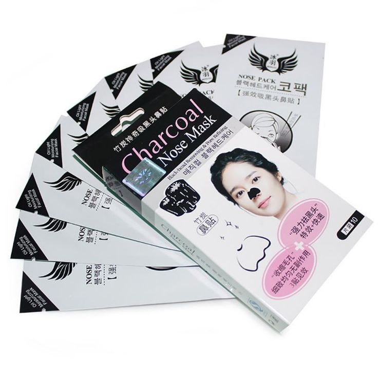 Bamboo Charcoal Face Mask Peel Off Pack