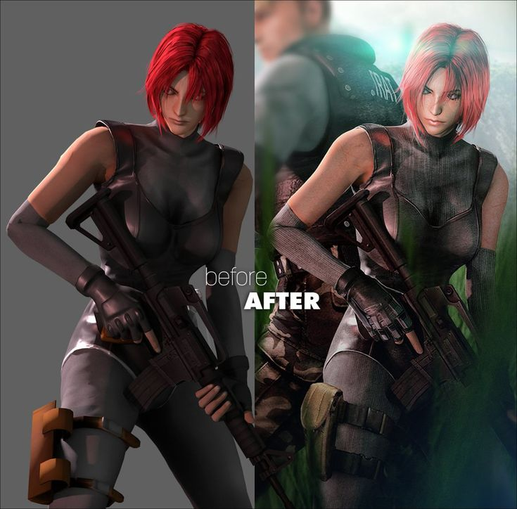 Dino Crisis Returns (Before After) by FearEffectInferno on DeviantArt