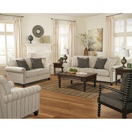 Milari Linen Living Room Set Signature Design By 1Stop Bedrooms | Buy  Bedroom Furniture Sets | Part 56