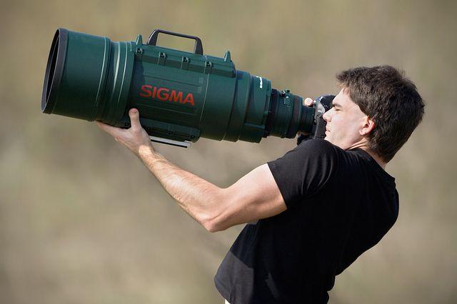 シグマ 200-500mmf2.8のウルトラ望遠ズームレンズ