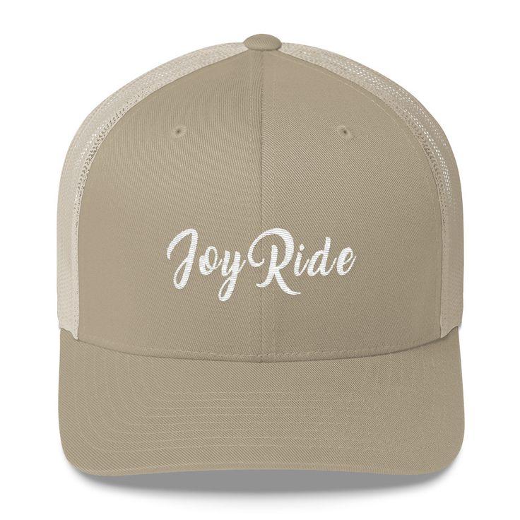 Joy Ride Trucker Cap