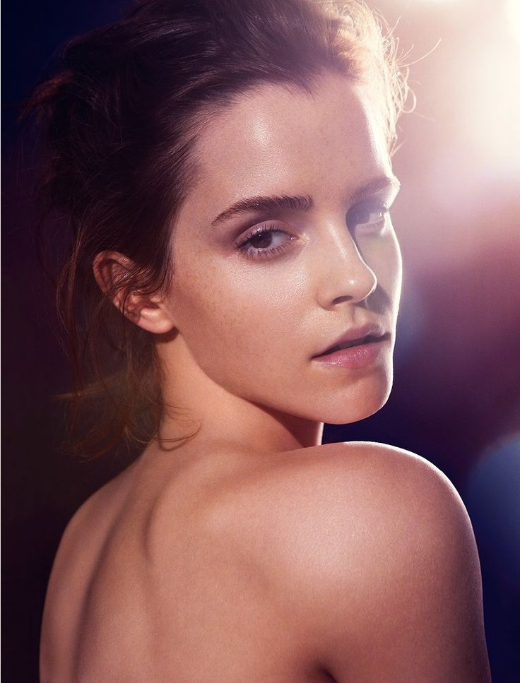 Emma Watson photographed by James Houston for Natural Beauty 2013 Book.