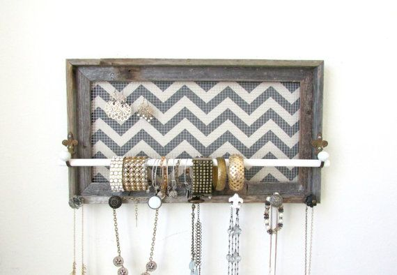 Hey, I found this really awesome Etsy listing at https://www.etsy.com/listing/179399971/jewelry-organizer-jewelry-holder