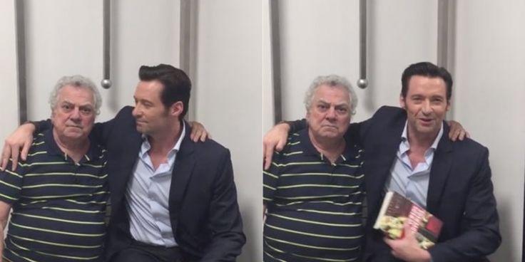 Encontro de Hugh Jackman com o dublador do Wolverine será EXIBIDO AMANHÃ no The Noite