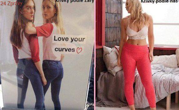Tohle, že jsou křivky? Zara to s novou reklamní kampaní přehnala!