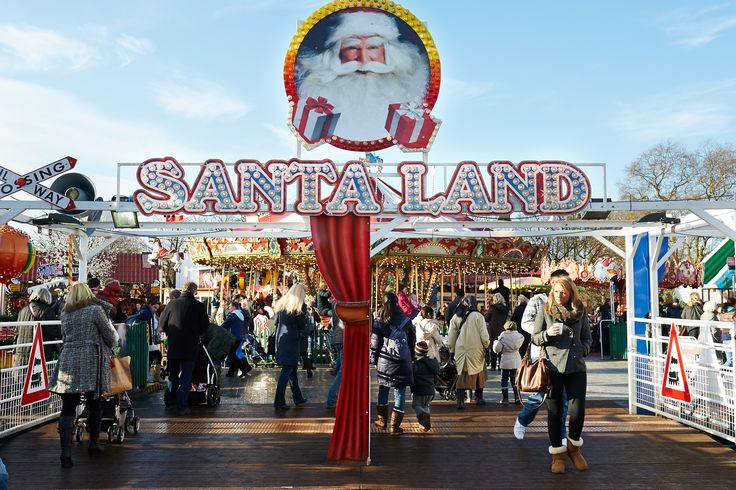 Hyde Park's Santa Land. Hyde Park's Winter Wonderland is the perfect setting for a magical Christmas grotto. It's free to see Father Christmas and every tot will walk away with a trinket and a photo memory. Last year the Big Man gave away 50,000 gifts. Sat Nov 23 - Sun Jan 5 2014. More information here: http://www.timeout.com/london/kids/activities/santas-grottos-in-london
