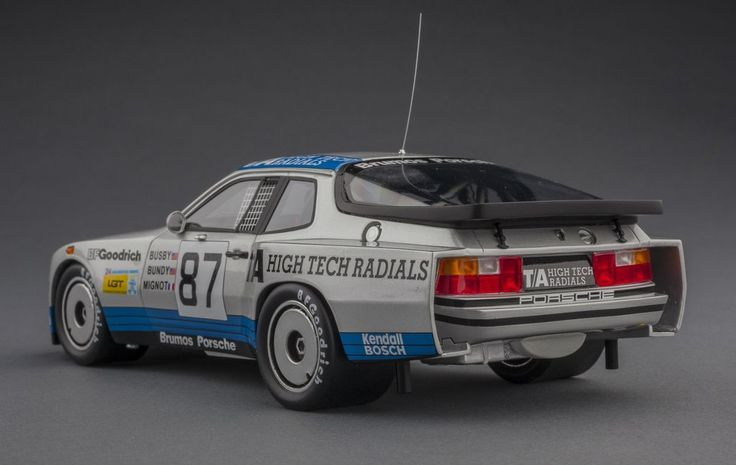 Porsche 924 Carrera GTR 1982 Le Mans | 1:18 Scale Model Car by TSM | Rear Quarter