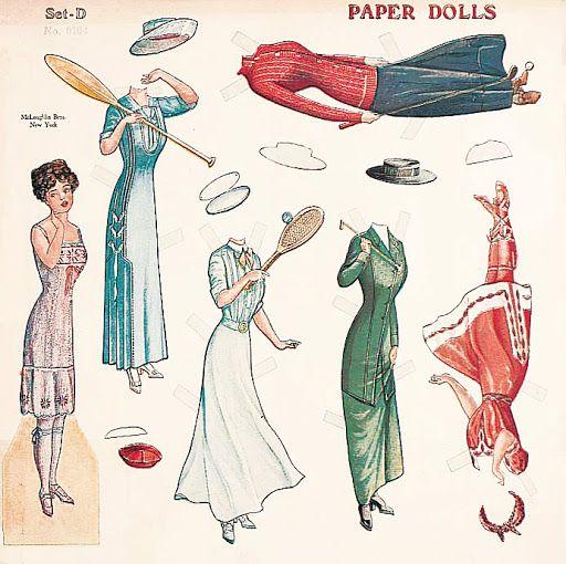 Mc Loughln paper dolls set - papercat - Picasa Web Albums